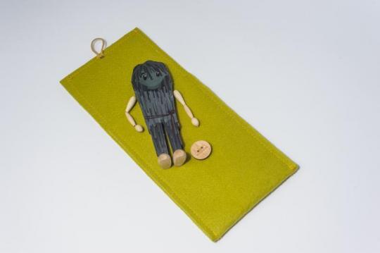 Dřevěná figurka - hejkal