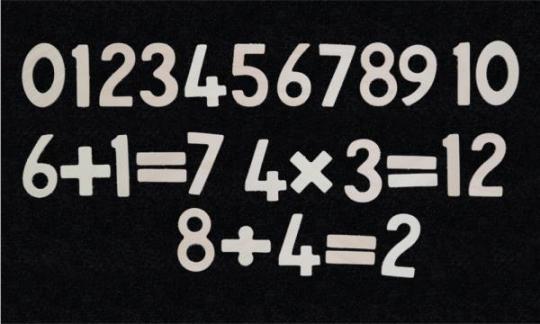 Hrací stěna – Číslice