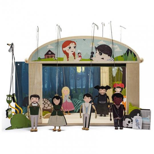 Loutkové divadlo - wood season