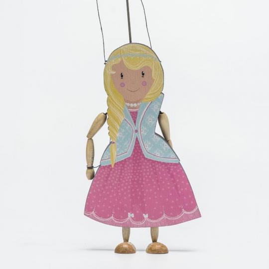wood season loutka – princezna