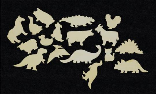 Hrací stěna – Zvířátka